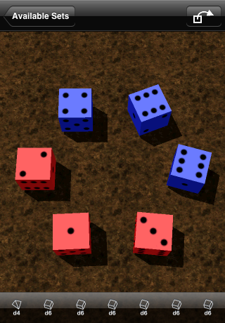 another sample set of dice
